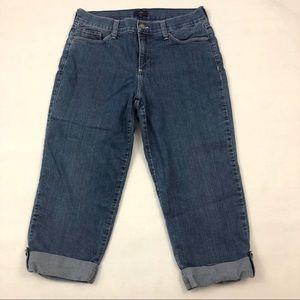 NYDJ Crop Jeans Size 10
